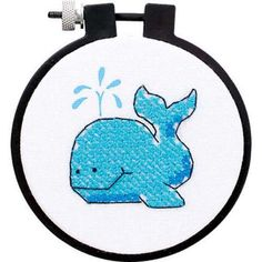 Dimensions® The Whale Stamped Cross-Stitch Kit