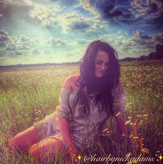 Beautiful Flower hippie girl #beautiful #flowers #sunset #dreams #womensfashion #fashion #coachella #style #dress #pretty #sexy #hair