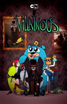 """malvagio-crew: """"Il primo IP messicana'Villainous'di Alan Ituriel è ora ufficialmente online sul canale Cartoon Network LA! Assicuratevi di check it out e dillo ai tuoi amici! (Versione inglese disponibile a breve). """"E"""