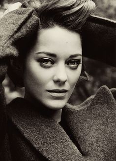 Marion Cotillard. One of the very few women out there that can get away with murder just with her looks. Sexy
