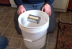 How To Make A 5 Gallon, Self-Resetting Mouse Trap - Home and Gardening Ideas