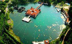 Thermal, hot spring lake, Heviz