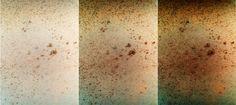 "Curiosity sol 93 MAHLI Observation Tray ""surface, slightly rough"" - ""Courtesy NASA/JPL -Caltech"" processing 2di7 & titanio44"