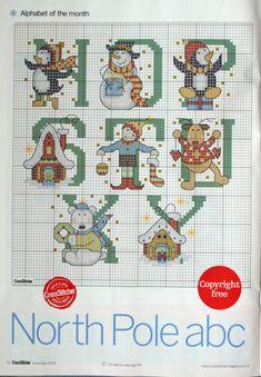 North Pole ABC #3/4 ............... (Nov. 2009 Issue CrossStitcher) Gallery.ru / Фото #33 - 219 - logopedd