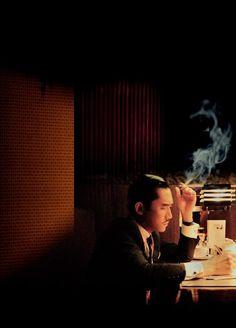 Cigarro, humo. 2046 (2004) Wong Kar Wai