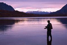 Go fishing in Alaska!