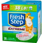 Fresh Step Extreme Scented Scoopable Cat Litter >>> New and awesome cat product awaits you, Read it now  : Cat litter