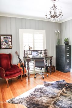 Feature Friday: Maison De Pax. Paint Wood PanelingPaneling ...