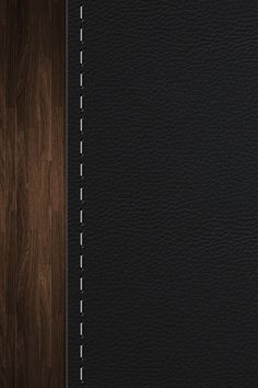 Dark leather and dark wood would make a premium setting for an interior. Detail Architecture, Interior Architecture, Interior And Exterior, Joinery Details, Leather Wall, Dark Wood, Textures Patterns, Furniture Design, Design Inspiration