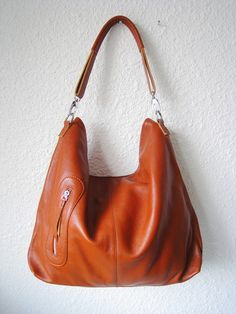 Leather handbagsAdeleshop clip on hobo laptop by Adeleshop on Etsy, $155.00