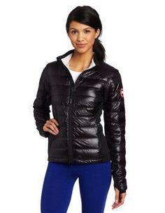 Canada Goose Womens Hybridge Lite Jacket (Black, X-Large)