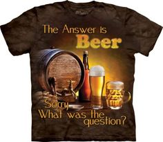 Beer-Outdoor-T-Shirt-Adult-Unisex-The-Mountain