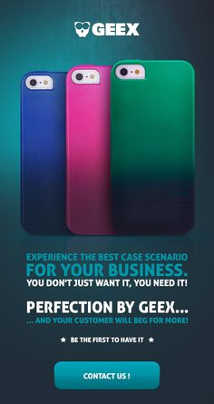 Experience the best case scenario for your business...and your customers will beg for more #geex #cases #business #wholesale #smartphone #covers