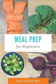 Meal Prep for beginners - clean eating style, Meal Prep Recipes. Learn to make enough food for the week in under 2 hours.
