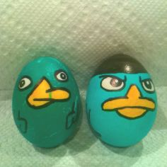 Perry the platypus Easter eggs!