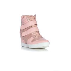 Belle Shoes Gabbi Wedge Sneakers Rosa