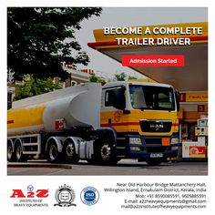 provides training to become a complete trailer driver. Institute of Heavy Equipments & Driving School 9605885591 Harbor Bridge, Driving Instructor, Training School, Heavy Equipment, How To Become, Trucks, Truck