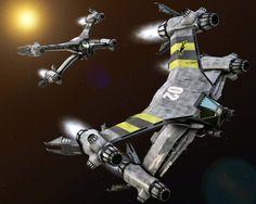 Babylon 5 - STARFURY MK.2 - 02 by TMC-Deluxe on DeviantArt