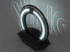 TRON Legacy Ring Lamp futuristic lighting