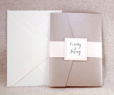 Wedding Invitation Set Sophisticated elegance by WeddingMonograms