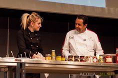 Interessantissimo showcooking con degustazioe di prodotti calabresi con lo chef Enzo Cannatà  #enzocannata #enzocannatà #reggiocalabria #Golosaria #Riccione #Golosaria2014 #acquaementa