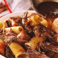 Pot Roast Pasta - This pasta is the perfect hearty midweek pasta. It's extremely filling and comforting and makes i - Crockpot Dishes, Beef Dishes, Pasta Dishes, Healthy Recipes, Cooking Recipes, Cooking Icon, Instant Pot Dinner Recipes, Pressure Cooker Recipes, Roast Recipes
