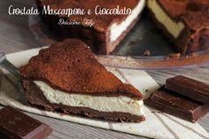 Una ricetta morbida e cremosa,la Crostata Mascarpone e Cioccolato è adatta a tutti,grandi e piccini ne andranno pazzi perchè è buonissima :)