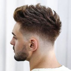 Spiky Hair For Men - Best Men's Hairstyles: Cool Haircuts For Guys Trending Haircuts, Cool Haircuts, Haircuts For Men, Haircut Men, Haircut Short, Latest Hairstyles, Hairstyles Haircuts, Cool Hairstyles, Mens Hairstyles Fade