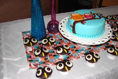 Baby Shower - Owl Cupcakes