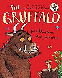 The Gruffalo - Preschool activities and crafts. Do you know the Gruffalo? The Gruffalo is a delightful children's book by writer and playwright Julia Donaldson, illustrated by Axel Scheffler. Kindergarten Books, Preschool Books, The Gruffalo Book, New York Times, Cover Design, Julia Donaldson Books, Snail And The Whale, Best Toddler Books, The Gruffalo