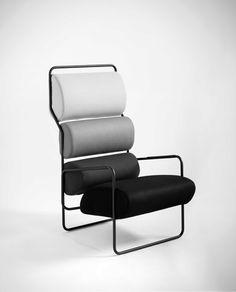 Archille Castiglioni, Sancarlo armchair originally for Driade and now in production by Tacchini.