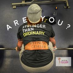Are you?  Lift heavy, eat clean and go for it today!  You only get stronger when you push your limits. #fitnessfriday #fitnessmotivation #motivation