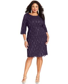 http://www.lyst.com/clothing/alex-evenings-threequartersleeve-sequined-lace-eggplant/?product_gallery=16987815