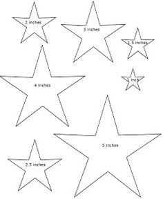 star template star templates teachers printable project ideas