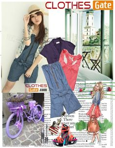"""ClothesGate.com"" by hobitanija ❤ liked on Polyvore"