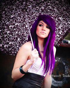 #Purple Hair #Photography