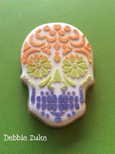 Debbie did a wonderful job on her day of the day skull cookies! She used our Sugar Skull and Cookie Cutter Stencil Set to do it. Sugar Skull Stencil, Halloween Stencils, Rad Tech, Cookie Cutters, Cakes, Fall, Tableware, Desserts, Autumn