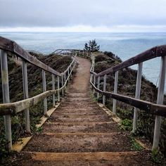 The Muir Beach Overlook is hauntingly beautiful.    Photo courtesy of ravenreviews on Instagram.