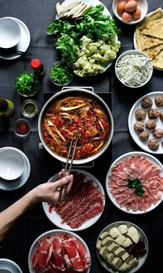How to make sichuan ma-la (numb/spicy) hot pot for Thanksgiving.