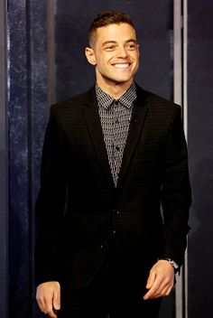 Rami Malek - handsome Egyptian American.