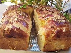 Bread Dough Recipe, Greek Cooking, Beef Tenderloin, Meatloaf, Sweet Recipes, Banana Bread, Biscuits, Pork, Favorite Recipes