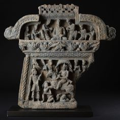 The Great Departure of Bouddha - Greco-Buddhist Art from Gandhara (0 - 400)