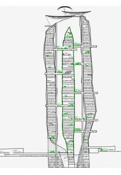 Un rascacielos dentro de otro rascacielos en el desierto del Sahara - Noticias de Arquitectura - Buscador de Arquitectura