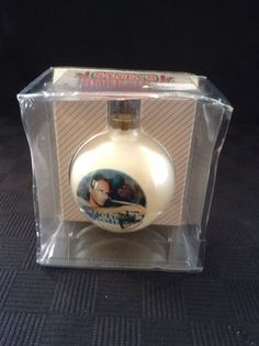 NIB Santa's Rockshop Limited Edition Michael Bolton Christmas Tree Ornament