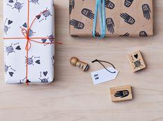 Symbole - Stempelset Ich liebe Stricken - Von/Für - ein Designerstück von heitereTage bei DaWanda