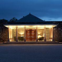 Loch Lomond Spa exterior lighting by Lighting Design International.