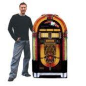 Jukebox Cardboard Stand Up