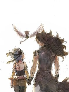 I could see Gajeel and Levy coming back from a mission like this! Fairy Tail Gale (Gajeel and Levy).Thank you to the creator! Gale Fairy Tail, Fairy Tail Amour, Anime Fairy Tail, Fairy Tail Art, Fairy Tail Guild, Fairy Tail Ships, Fairy Tales, Nalu, Fairytail