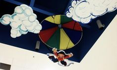 Skydive Diner - SKY vbs Group Publishing - FBC @ the Mall.