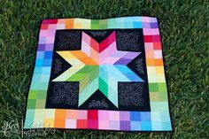 I love quilts with stars.
